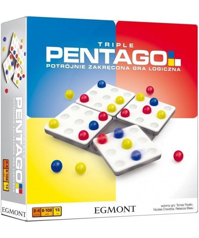 Logiczne - Pentago Triple