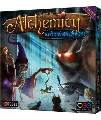 Pozostałe i różne - Alchemicy: Królewski Golem