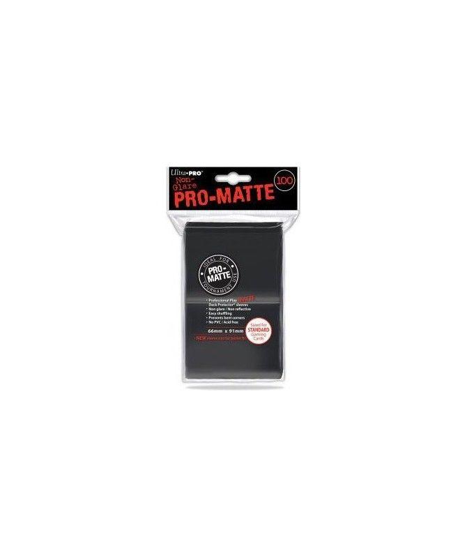 Ultra-Pro - Deck Protector - Pro-Matte Non-Glare Black (Czarne) 100