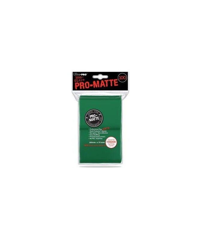 Ultra-Pro - Deck Protector - Pro-Matte Non-Glare Green (Zielone) 100