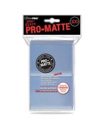 Ultra-Pro - Deck Protector - Pro-Matte Non-Glare Clear (Przezroczyste) 100