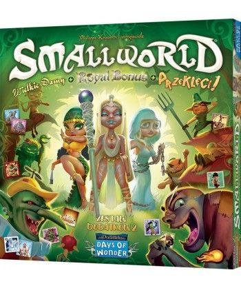 Pozostałe i różne - Small World: Zestaw dodatków 2 - Wielkie damy + Royal Bonus + Przeklęci