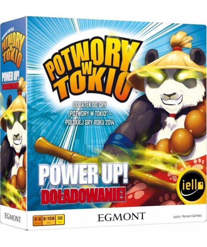 Potwory w Tokio/w Nowym Jorku - Potwory w Tokio: Power Up! Doładowanie (nowa edycja)