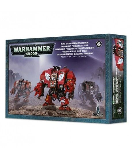 Space Marines - Blood Angels Furioso Dreadnought