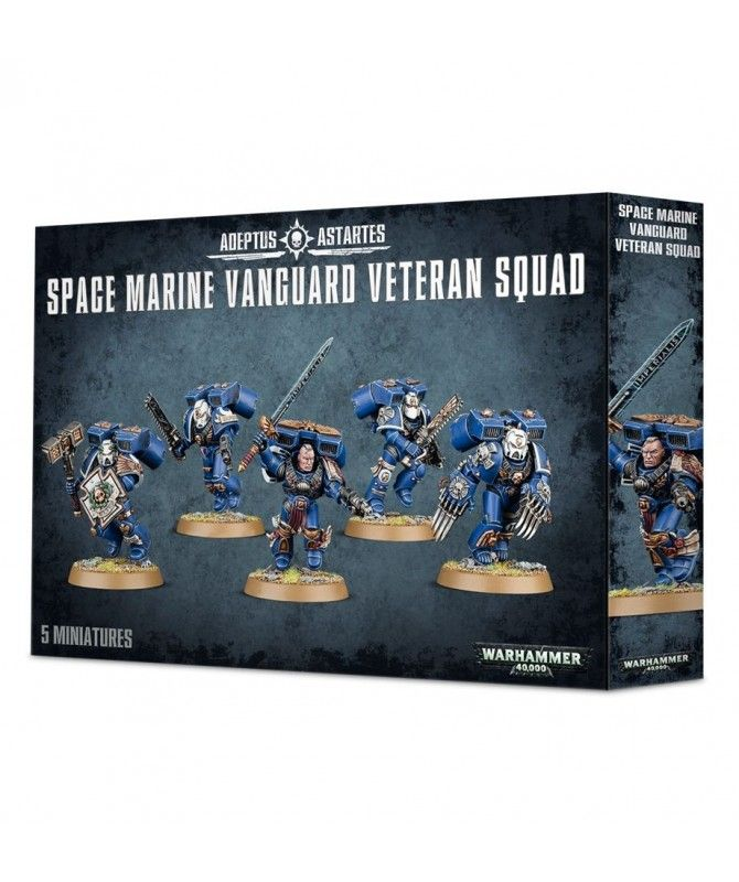 Space Marines - Space Marine Vanguard Veteran Squad