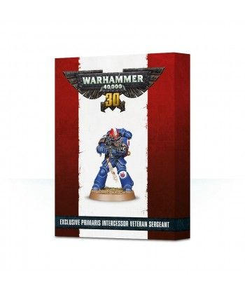 30 Years of Warhammer 40,000 Primaris Intercessor Veteran Sergeant Space Marines - 1