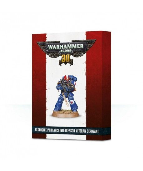Space Marines - 30 Years of Warhammer 40,000 Primaris Intercessor Veteran Sergeant