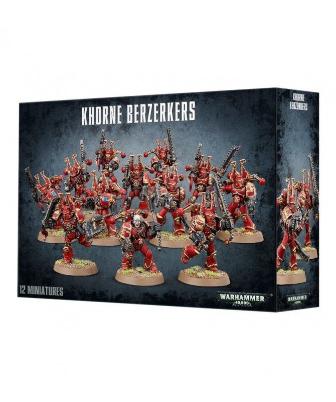 Chaos Space Marines - Chaos Space Marines Khorne Berzerkers