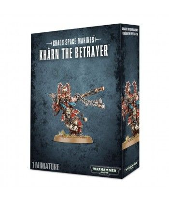 Chaos Space Marines - World Eaters Khârn the Betrayer
