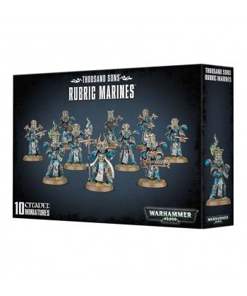 Thousand Sons Rubric Marines Chaos Space Marines - 1