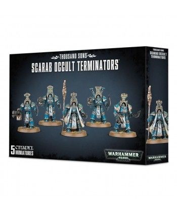 Chaos Space Marines - Thousand Sons Scarab Occult Terminators
