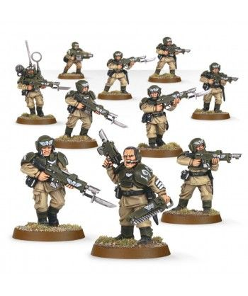 Astra Militarum - Imperial Guard Cadian Shock Troops