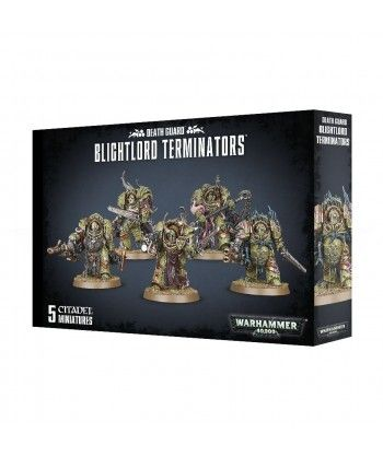 Chaos Space Marines - Blightlord Terminators