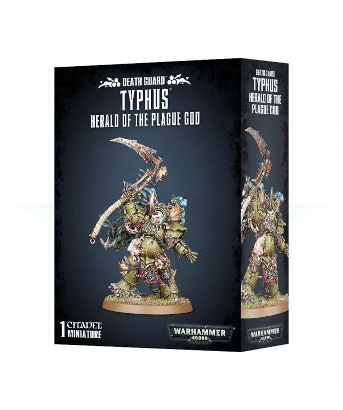 Chaos Space Marines - Typhus - Herald of the Plague God