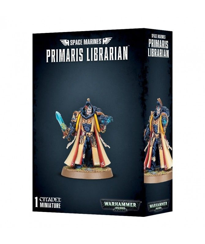 Space Marines - Primaris Librarian