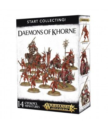 Blades of Khorn - Start Collecting! Daemons of Khorne