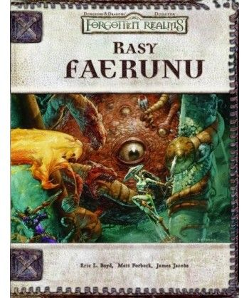 Forgotten Realms - Rasy Faerunu ed. 3.5