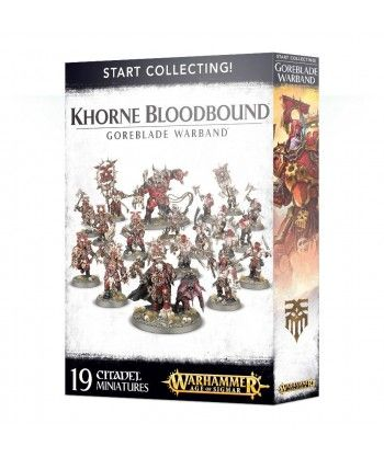 Start Collecting! Khorne Bloodbound Goreblade Warband Blades of Khorn - 1