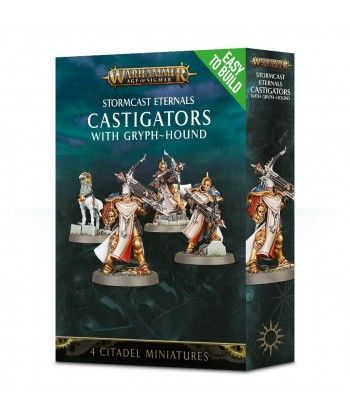 Stormcast Eternals - Easy to Build Castigators with Gryph-hound