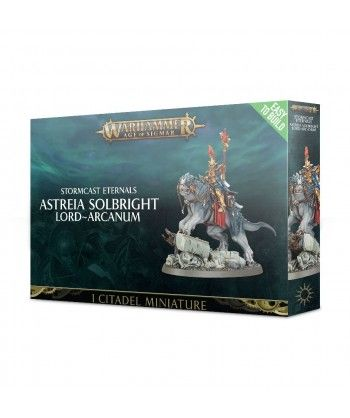 Stormcast Eternals - Easy to Build: Astreia Solbright, Lord-Arcanum