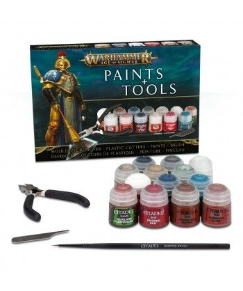 Zestawy Farb Citadel - Warhammer Age of Sigmar Paints & Tools Set