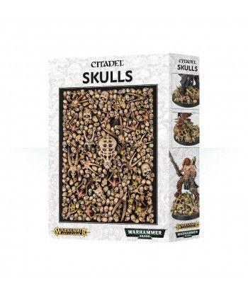 Makiety, elementy makiet i podstawki - Citadel Skulls
