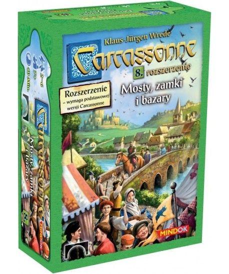 Carcassonne - Carcassonne: Mosty zamki i bazary (druga edycja)