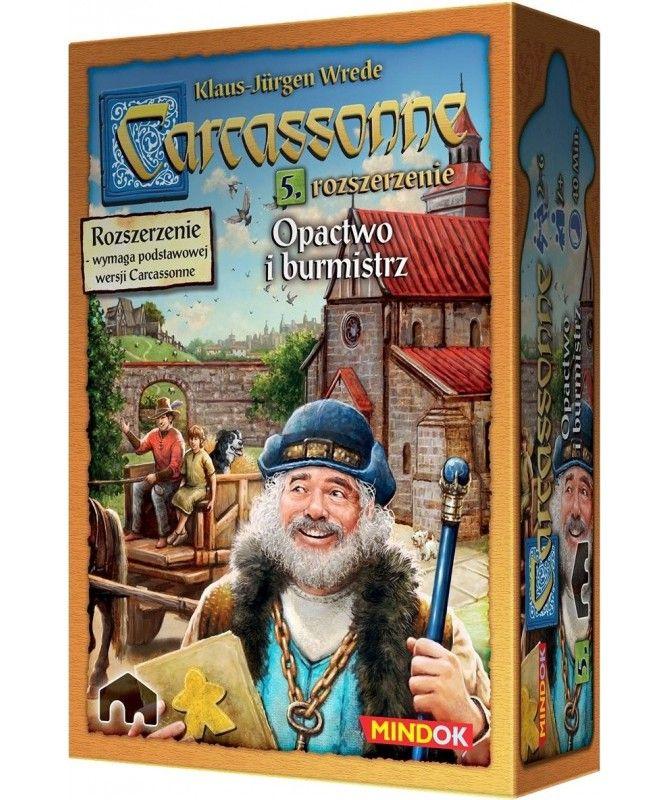 Carcassonne - Carcassonne: Opactwo i Burmistrzowie (druga edycja)