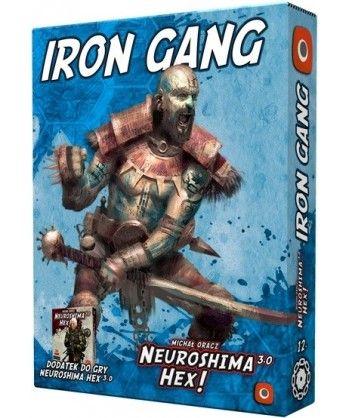 Neuroshima - Neuroshima HEX: Iron Gang (edycja 3.0)