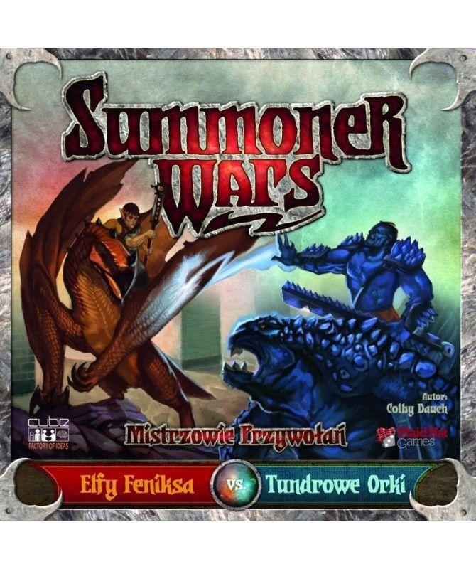 Gry Karciane - Summoner Wars: Elfy Feniksa vs Tundrowe Orki