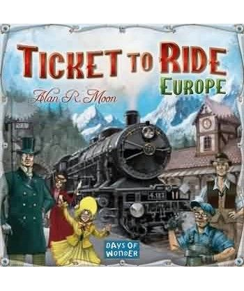 Ticket to Ride: Europe Rodzinne - 1