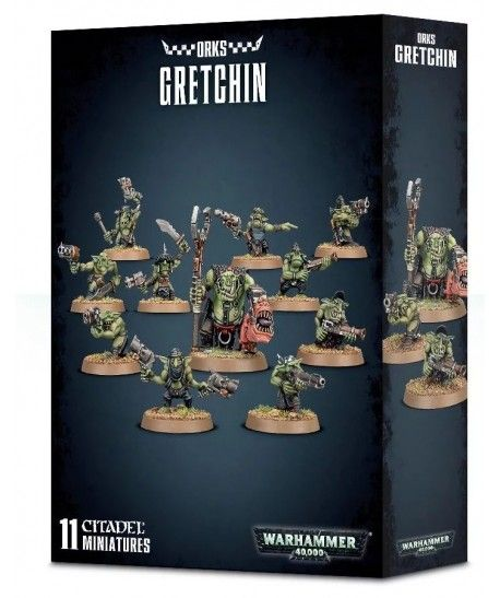 Space Orcs - Ork Gretchin