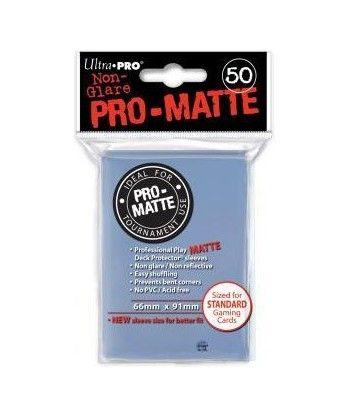 Ultra-Pro - Deck Protector: Pro-Matte Non-Glare Przezroczyste