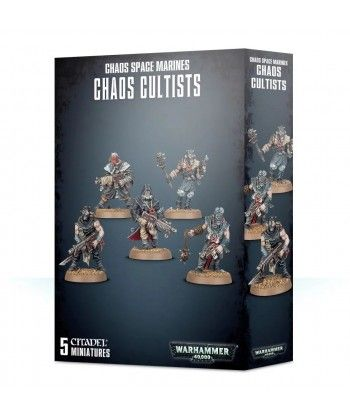 Chaos Space Marines - Chaos Cultists