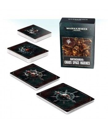 Chaos Space Marines - Datacards: Chaos Space Marines