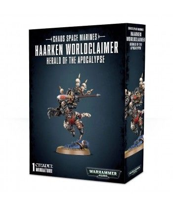 Chaos Space Marines - Haarken Worldclaimer, Herald of the Apocalypse