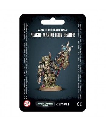 Chaos Space Marines - Plague Marine Icon Bearer