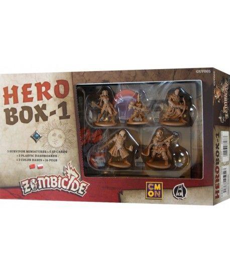 Pozostałe i różne - Zombicide: Czarna plaga - Hero Box-1