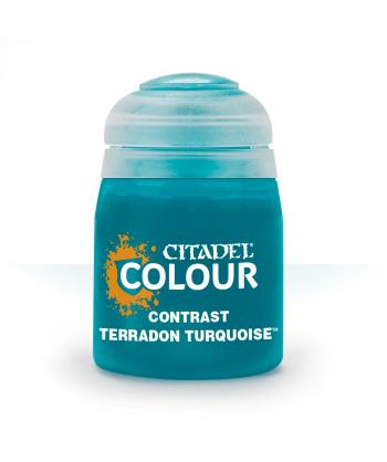 Contrast - Terradon Turquoise