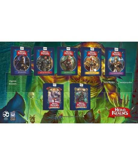 Hero Realms - Hero Realms: Zestaw 7 dodatków + mata + bonus