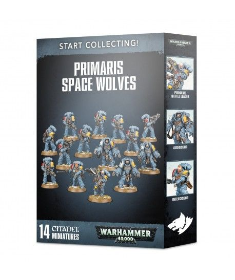 Space Marines - Start Collecting! Primaris Space Wolves