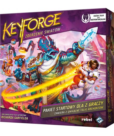 Przedsprzedaż - KeyForge: Zderzenie Światów - Pakiet startowy