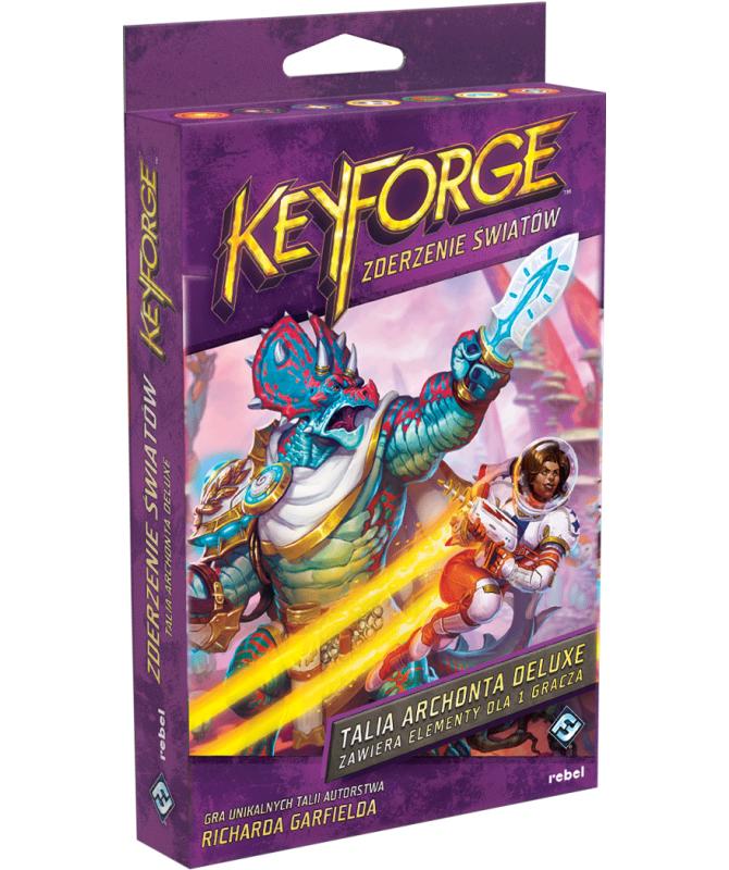 KeyForge - KeyForge: Zderzenie Światów - Talia deluxe