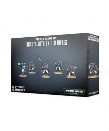 Space Marines - Space Marines Scouts with Sniper Rifles