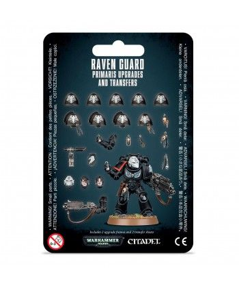 Space Marines - Raven Guard Primaris Upgrades and Transfers