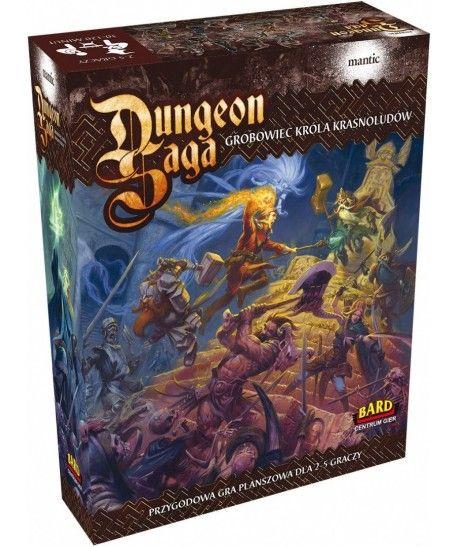 Przygodowe - Dungeon Saga: Grobowiec Króla Krasnoludów