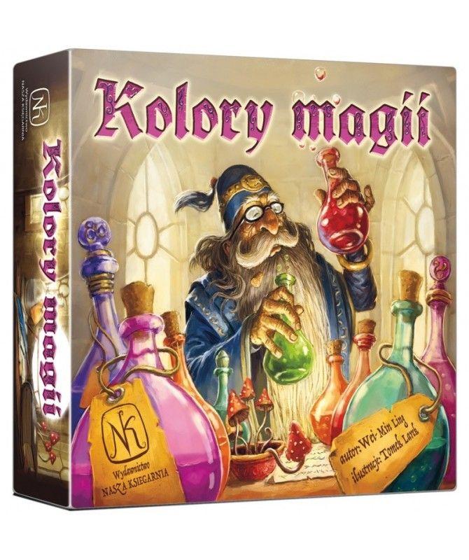 Strona główna - Kolory magii