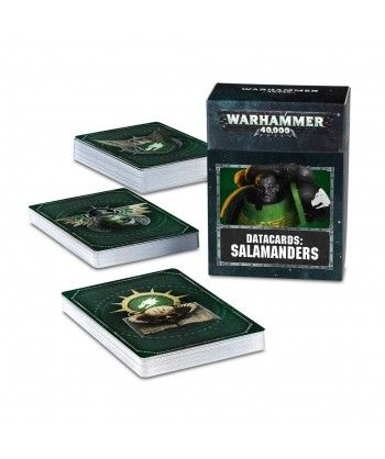 Datacards: Salamanders Space Marines - 1