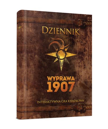 Przygodowe - Dziennik: Wyprawa 1907 - Interaktywna gra książkowa