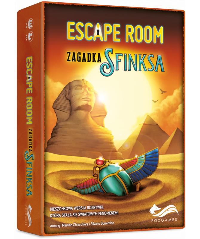 Kooperacyjne - Escape Room: Zagadka Sfinksa